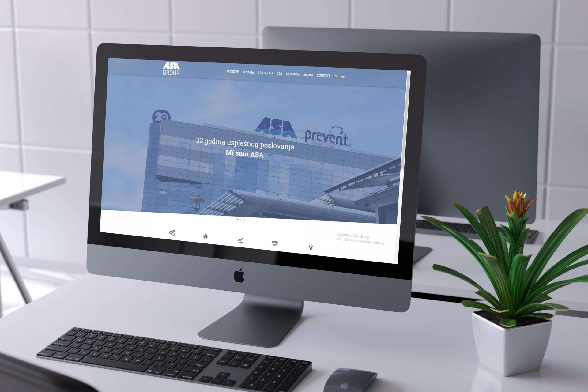 ASA Group custom business application