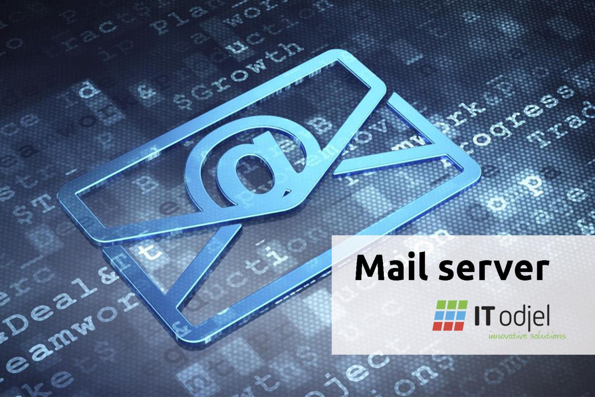 Mail server for Zvjezdana plantaža