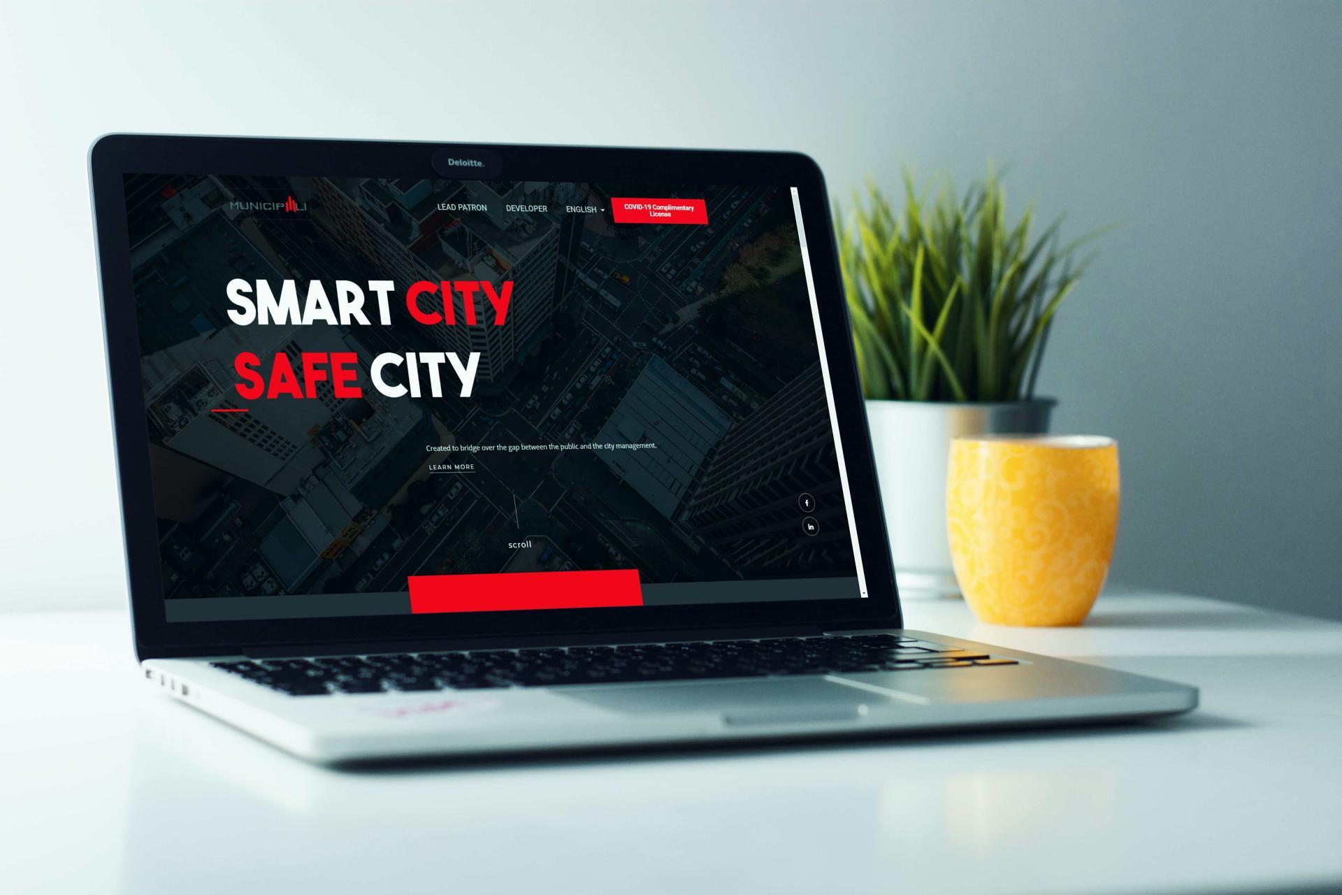 Municipali web stranica