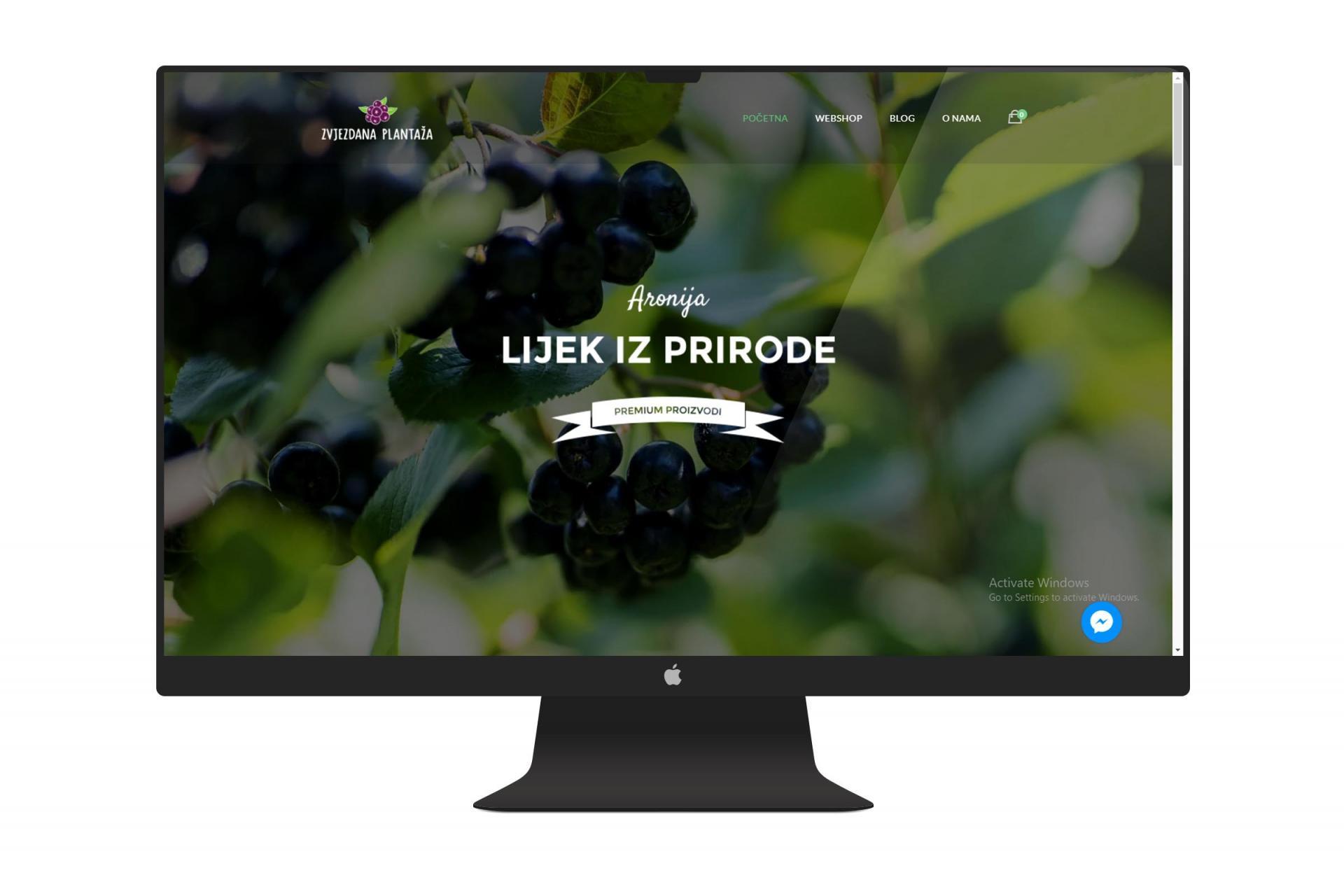 Zvjezdana plantaža web shop