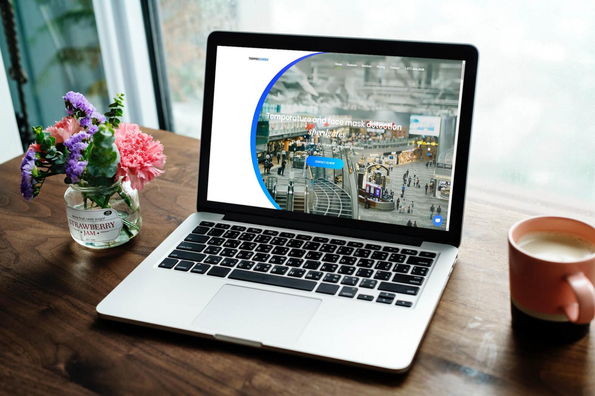 Temproscreen web stranica